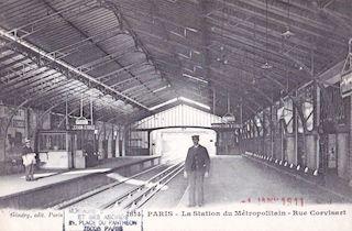 811.  La station du Métropolitain - Rue Corvisart