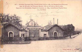 816.  Ancien couvent des Cordelières. Hôpital Broca