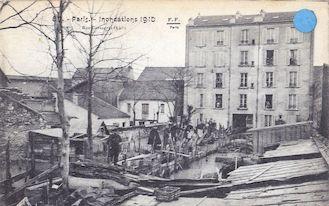 820. Rue Cantagrel - Inondations de 1910
