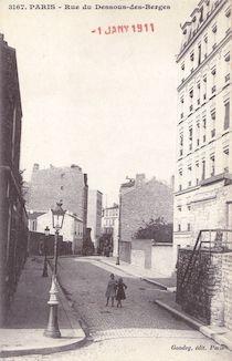 835.  Rue du Dessous-des-berges