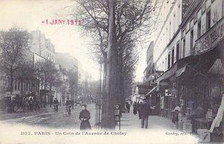 838. Un coin de l'avenue de Choisy