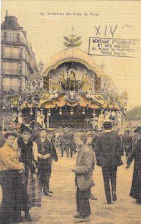 844. Souvenir de fêtes à Paris