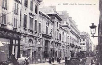 847. Ecole des Ponts et Chaussées. Rue des Saints Pères