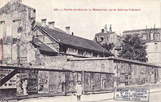 848. Maternité Port Royal- Partie arrrière