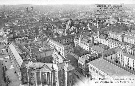 86 panorama pris du Panthéon