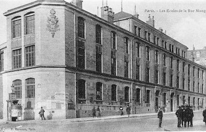 861 les écoles de la rue Monge