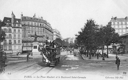 862 Place Maubert et le boulevard St Germain