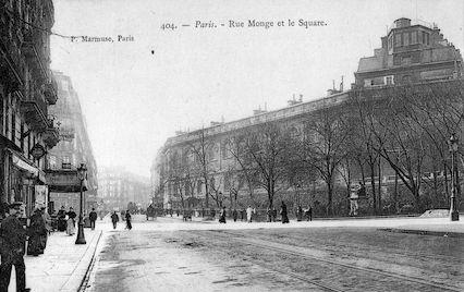 865 Rue Monge et le Square