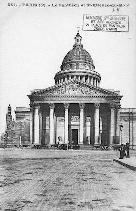 87 Le Panthéon et St Etienne-du-Mont