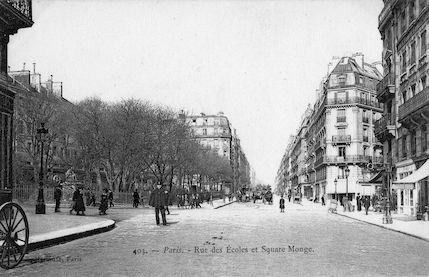 872 Rue des Ecoles et Square Monge