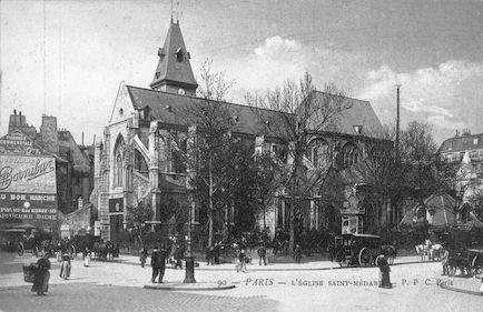 874 L'Eglise Saint-Médard