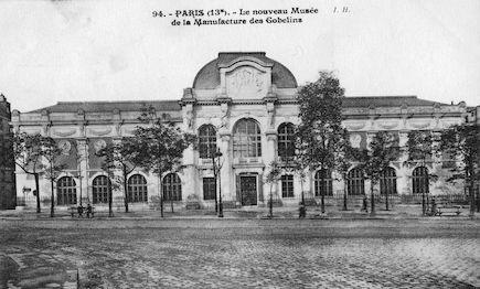884 Le nouveau Musée de la Manufacture des Gobelins
