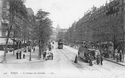 889 L' Avenue des Gobelins-recto