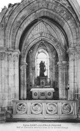 9 Eglise St Julien le Pauvre