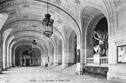 901 La Sorbonne, le Grand Hall