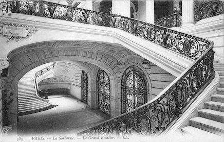 902 La Sorbonne- Le Grand Escalier