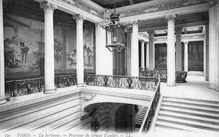903 La Sorbonne-Pourtour du Grand Escalier
