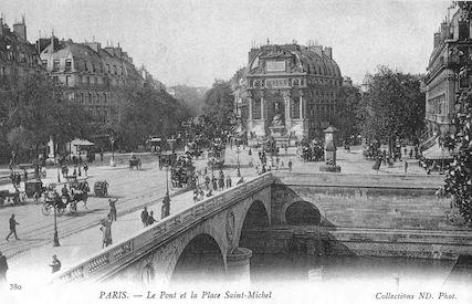 906 Le Pont et la Place Saint-Michel