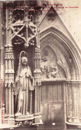 913 Statue miraculeuse de Saint Séverin