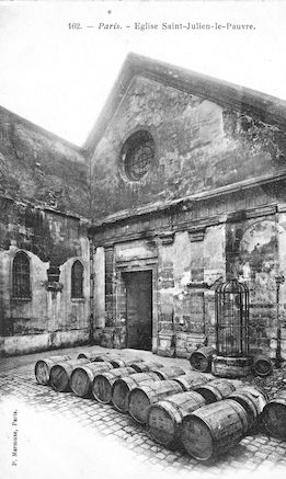 916 Eglise St-Julien-le-pauvre