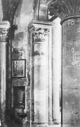 919  église-St-Julien-le-pauvre. piliers