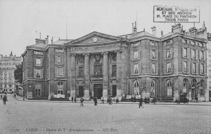 92 La mairie du Vème arrondissement