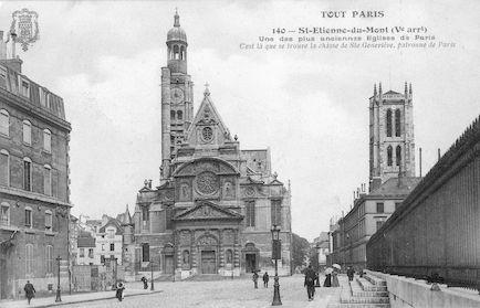 926 Eglise Saint Etienne-du-Mont