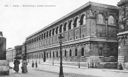 927 Bibliothèque Sainte Geneviève
