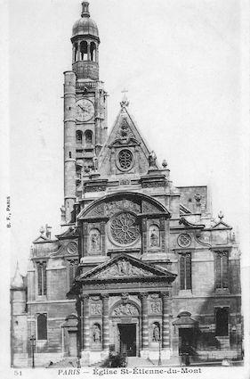 928 Eglise Saint Etienne-du-Mont