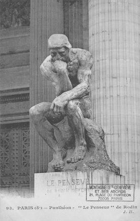 94 Panthéon. Le Penseur de Rodin