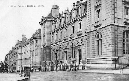 943 Ecole de Droit, rue Saint Jacques