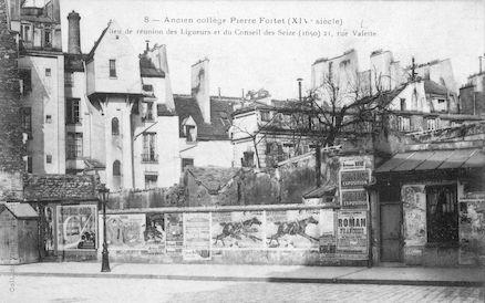 947 Ancien collège Fortet (XIVè s)