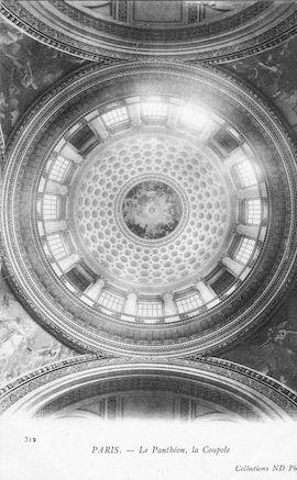953 La coupole du Panthéon
