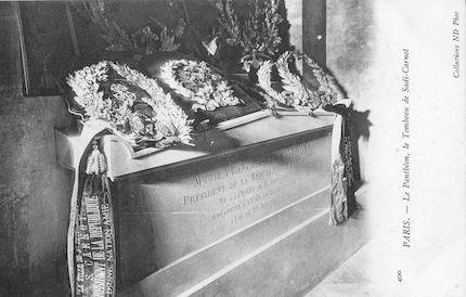 954. Panthéon. Le tombeau de Sadi-Carnot