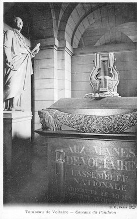 958 Panthéon. Tombeau de Voltaire