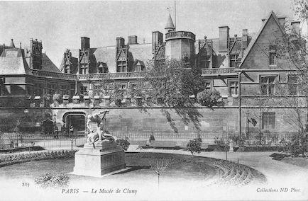 960 Le musée de Cluny