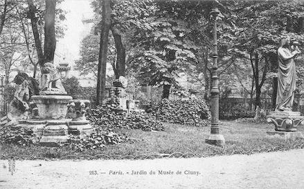 967 Jardin du musée de Cluny