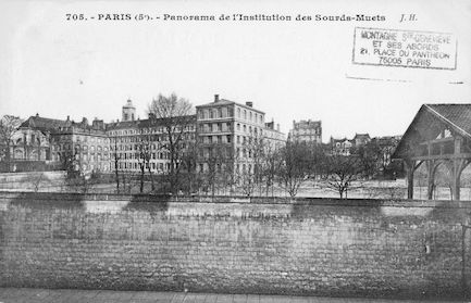 97 Panorama de l'institution des Sourds-Muets