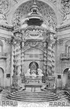 972 Chapelle du Val-de-Grâce. Le Maitre autel