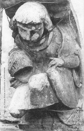 974 Marmouset de l'Hôtel du Sérail du Maréchal de Saxe, rue quatrefages