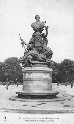 975 Monument à Francis Garnier place de l'Observatoire