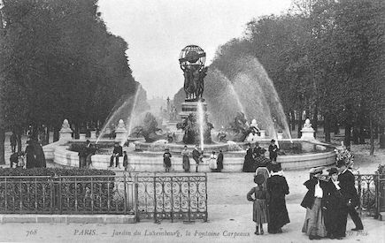 976 La fontaine Carpeaux au jardin du Luxembourg