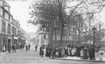 979 Rue du fer à moulin et square Scipion