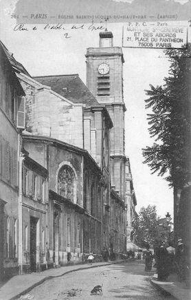 98 Eglise St Jacques-du-Haut pas. Abside