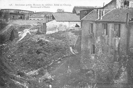 983 Maison du célèbre Abbé de Choisy, boulevard d'Italie