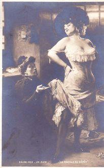 990. salon 1903 - La fouille au dépôt