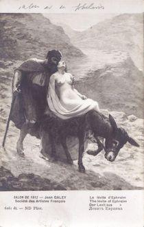 991. Salon 1912- Le levite d'Ephraim par Jean Galey