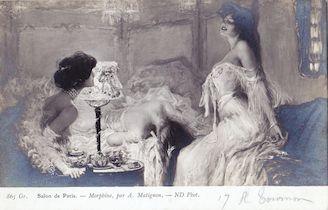 992. Salon de Paris. Morphine par A. Matignon