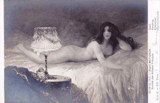 994.  Salon de 1912 - Eveil par Albert Matignon