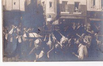 995 Salon de 1912. Charlotte Corday conduite au suplice par Eugène Béringuier